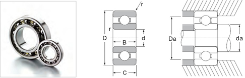 Non-standard series Bearings